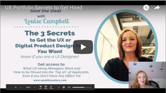 UX Portfolio Secrets to Get Hired: Live Teardowns of Real UX Portfolios and the Jobs they Applied For